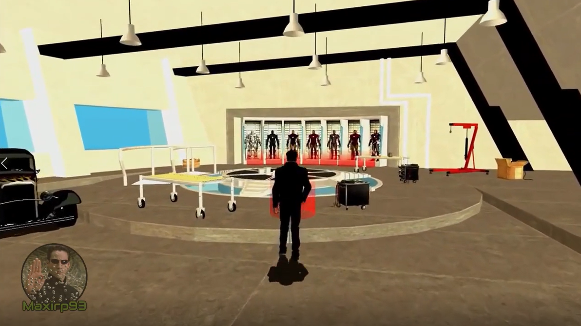 《GTA:圣安地列斯》钢铁侠MOD  多种盔甲可穿戴