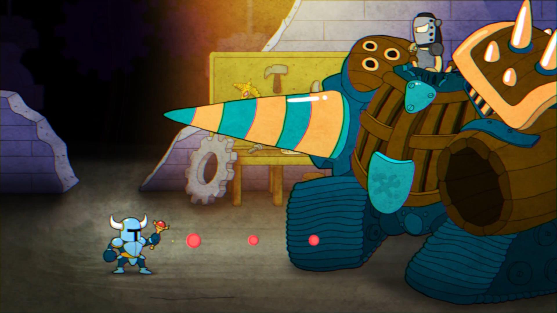 游戏新消息:粉丝制作有爱动画假如铲子骑士穿越到其他游戏