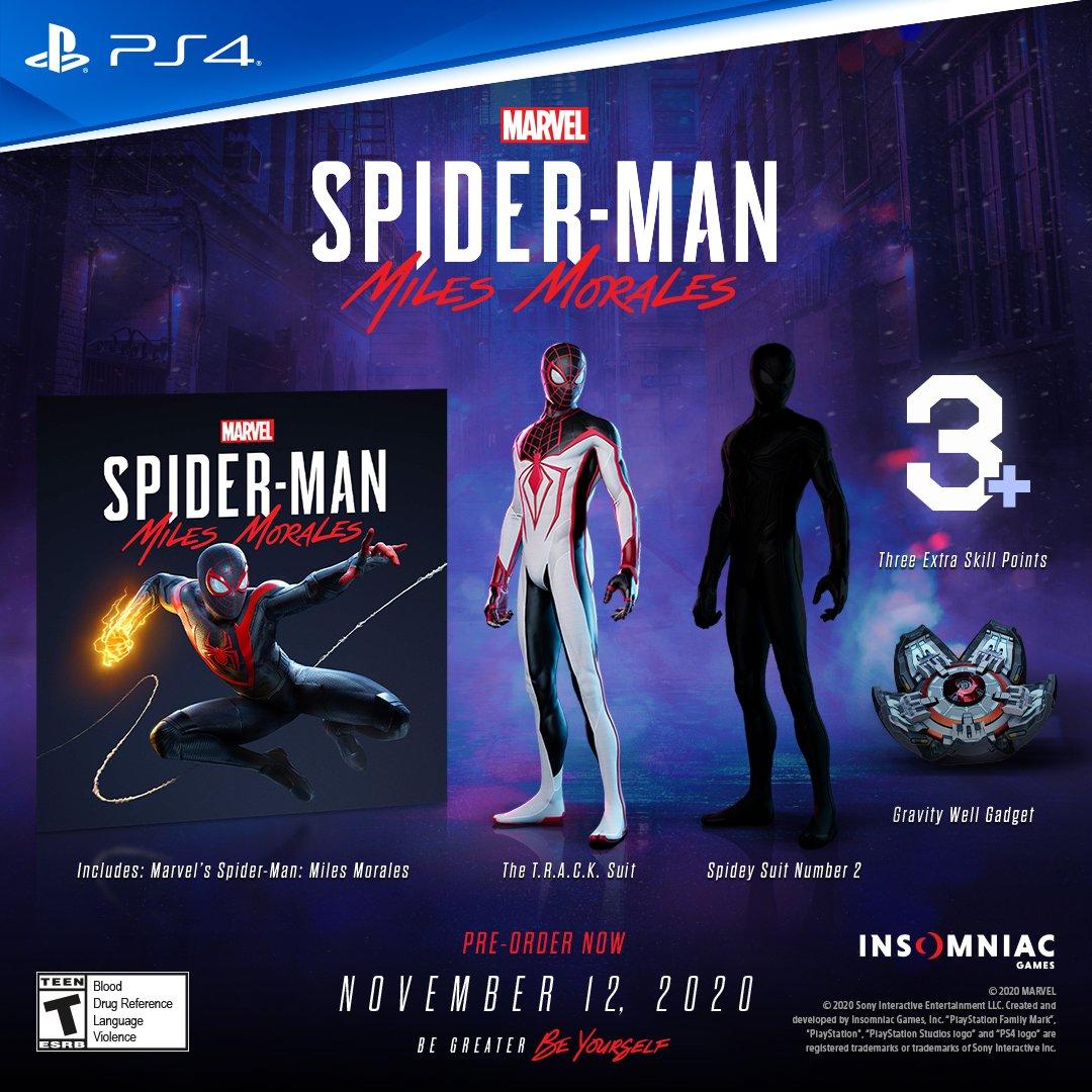 游戏新消息:开发商确认PS4新版漫威蜘蛛侠存档可转移至PS5