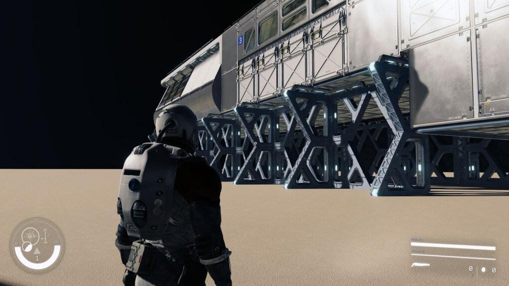 游戏新消息:B社科幻游戏星空新截图疑似泄露探索太空