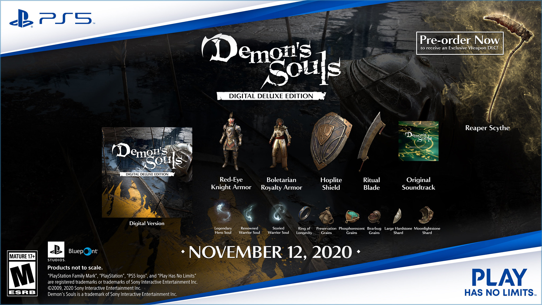 游戏新消息:恶魔之魂重制版全新截图数字豪华版售价90英镑