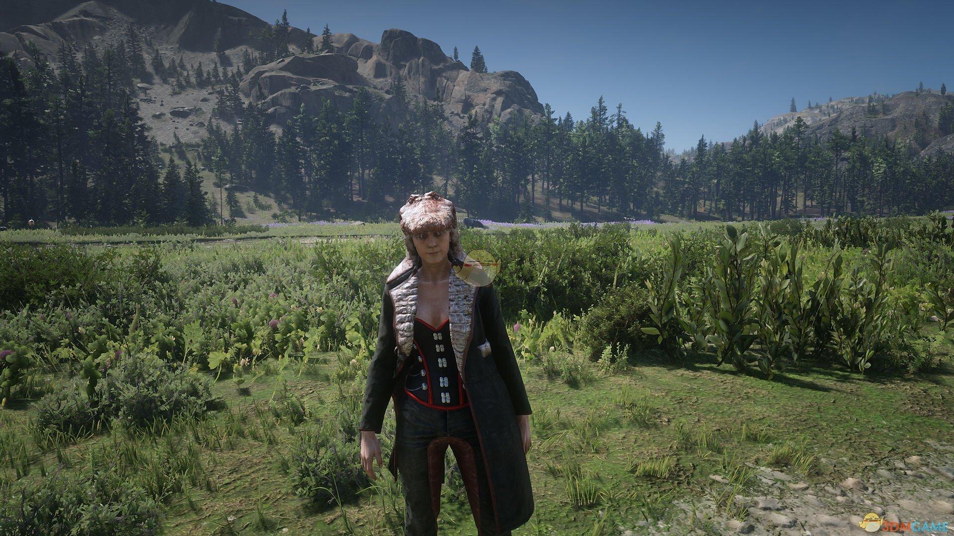 《荒野大镖客2》传说条纹短吻鳄及其服装外观一览