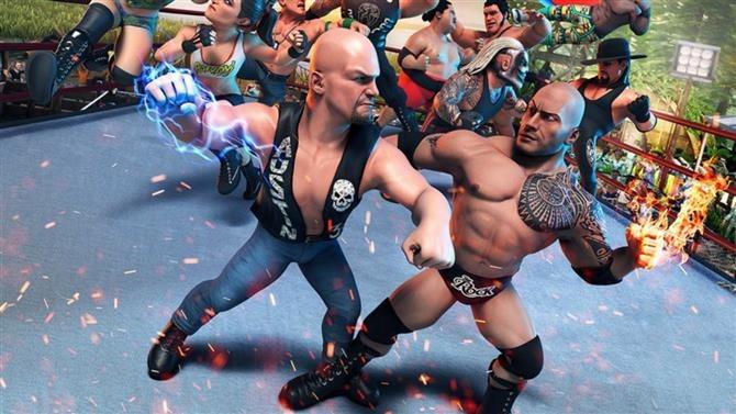 《WWE 2K竞技场》遭控诉未经设计师同意展示选手纹身
