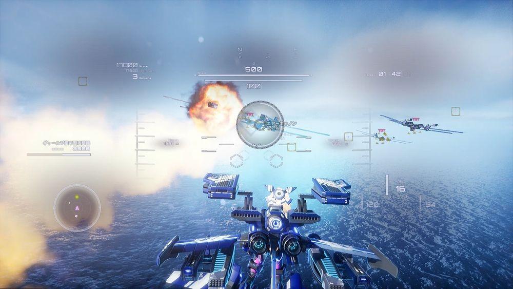 少女空战游戏《钢翼少女》2月25日登陆PS4/NS/PC