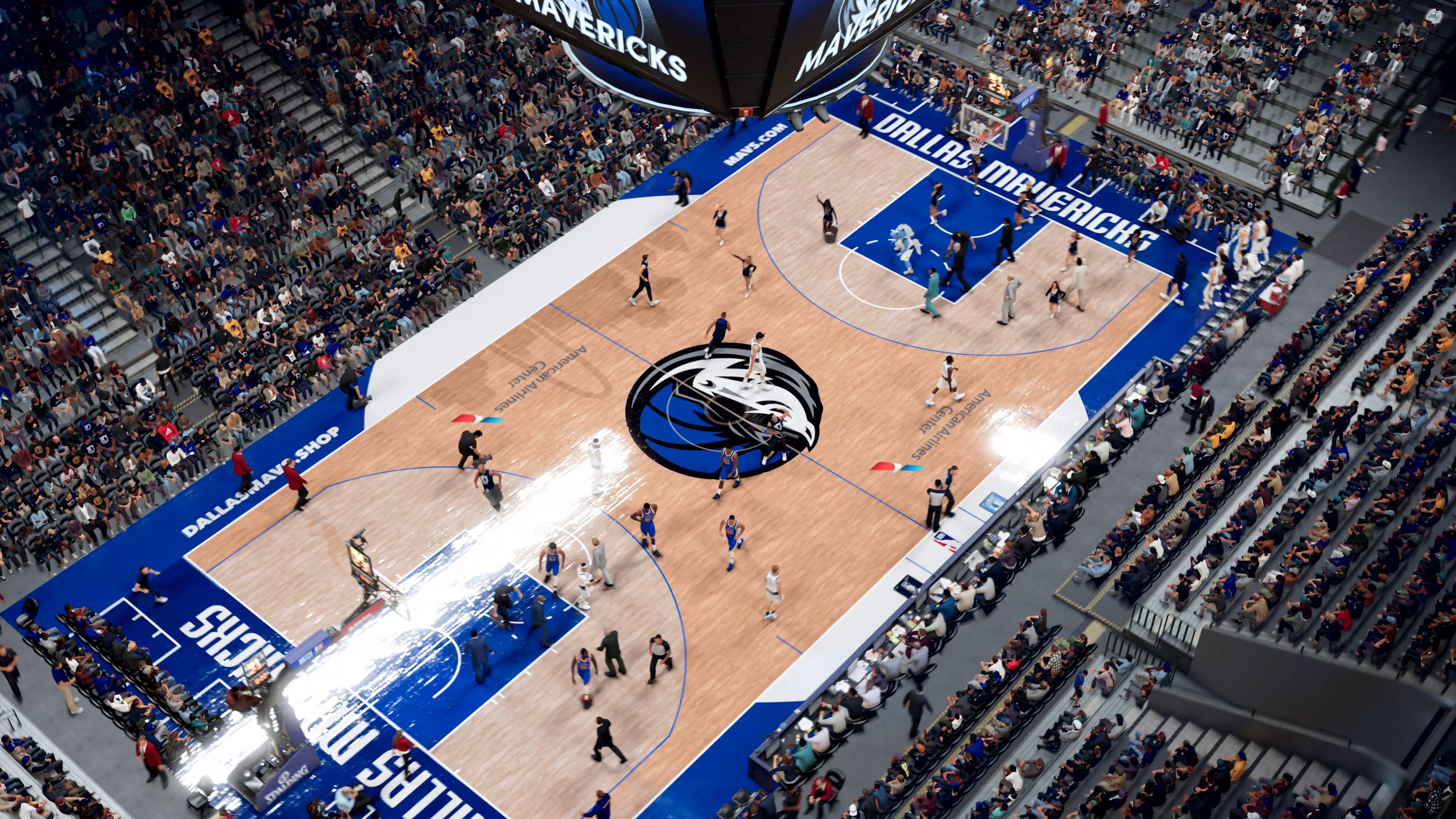 惊掉下巴!《NBA 2K21》向您发送了首支次世代游戏画面