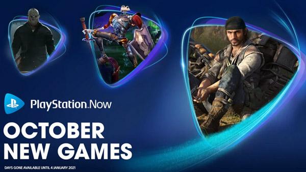 PS NOW新增《往日不再》、《三位一体4》等五款游戏