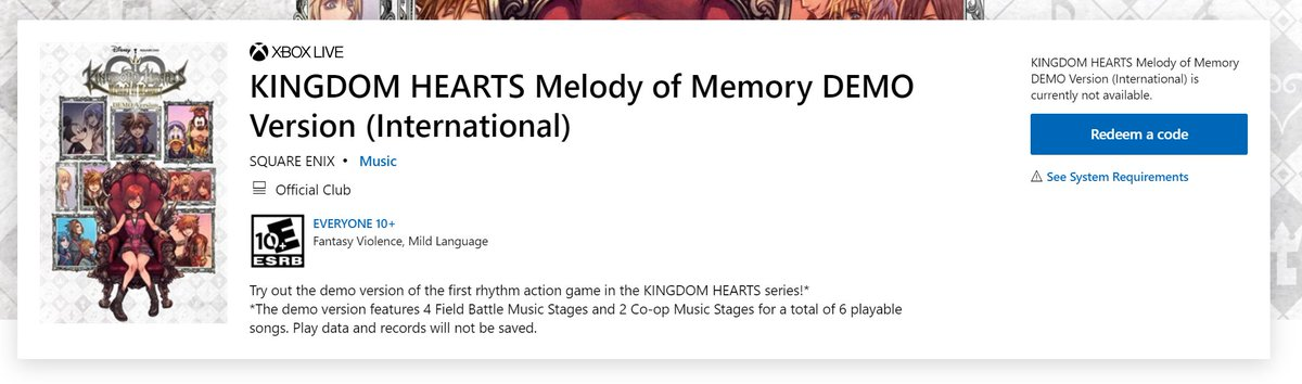 SE新作《王国之心:记忆旋律》试玩版情报泄露