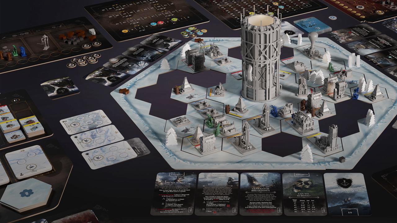 《冰汽时代》桌游版本正式登陆Kickstater开启众筹