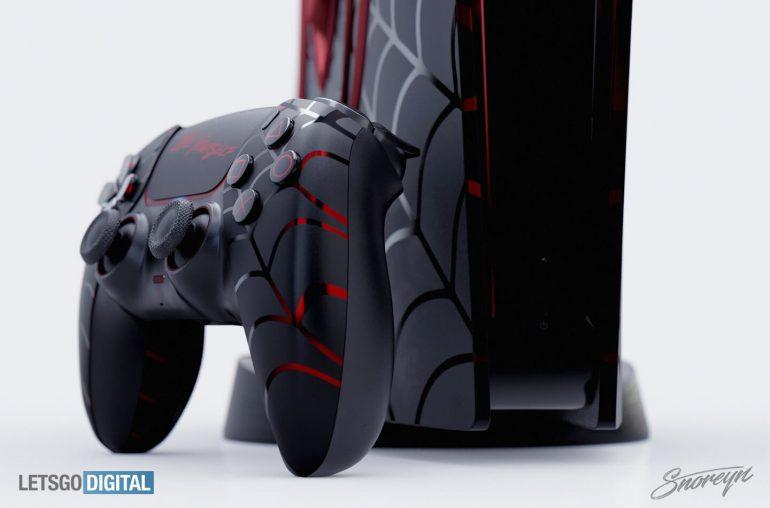 玩家自制《漫威蜘蛛侠》限定版PS5主机概念视频