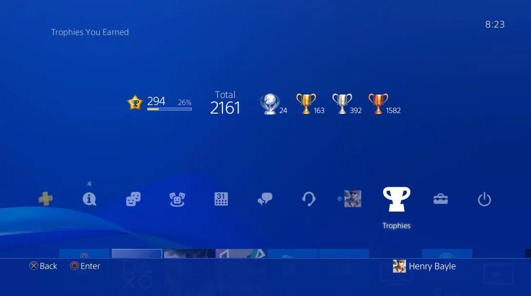 PlayStation奖杯等级变革细节:从100扩增到999
