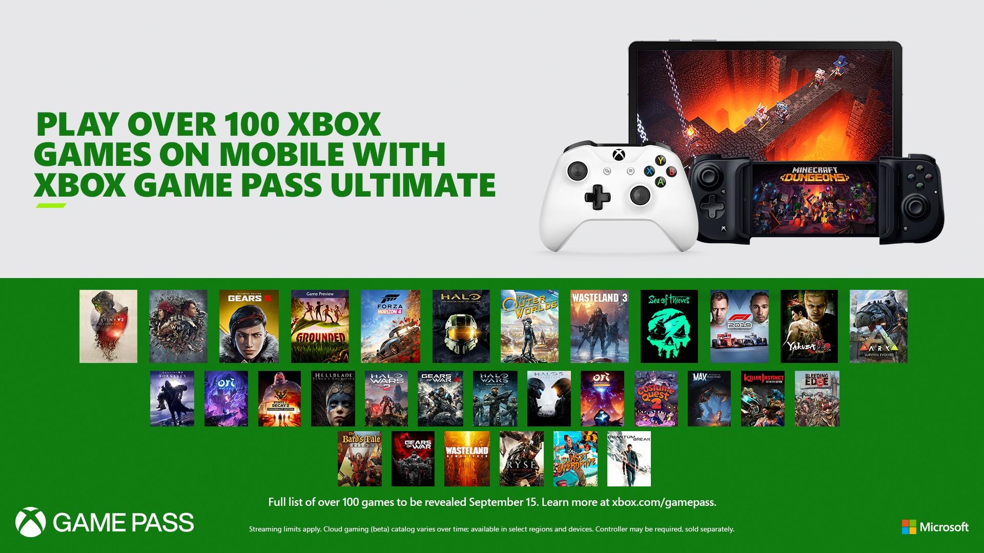 微软:未来玩家不用下载游戏就能通过xCloud先行体验