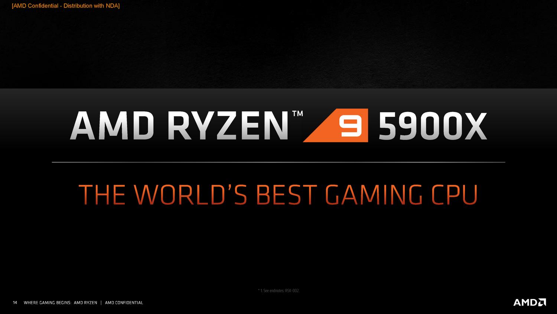 AMD锐龙5000攻下Intel堡垒 世界上最快的游戏CPU