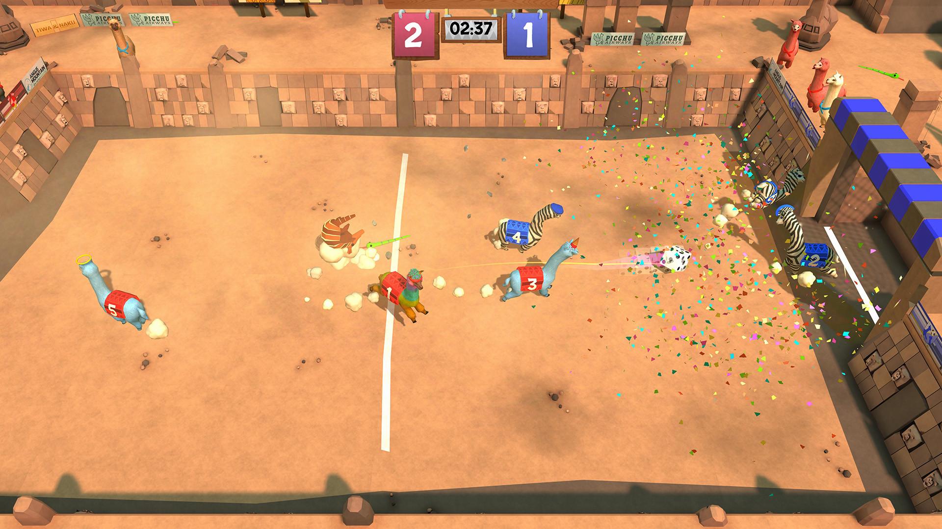 《草泥马足球:全明星》新预告 试玩版上线Steam
