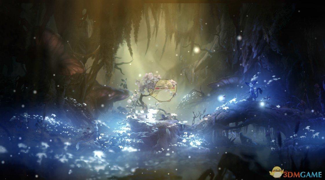 《Wallpaper Engine》奥日2精灵之森中心场景动态壁纸