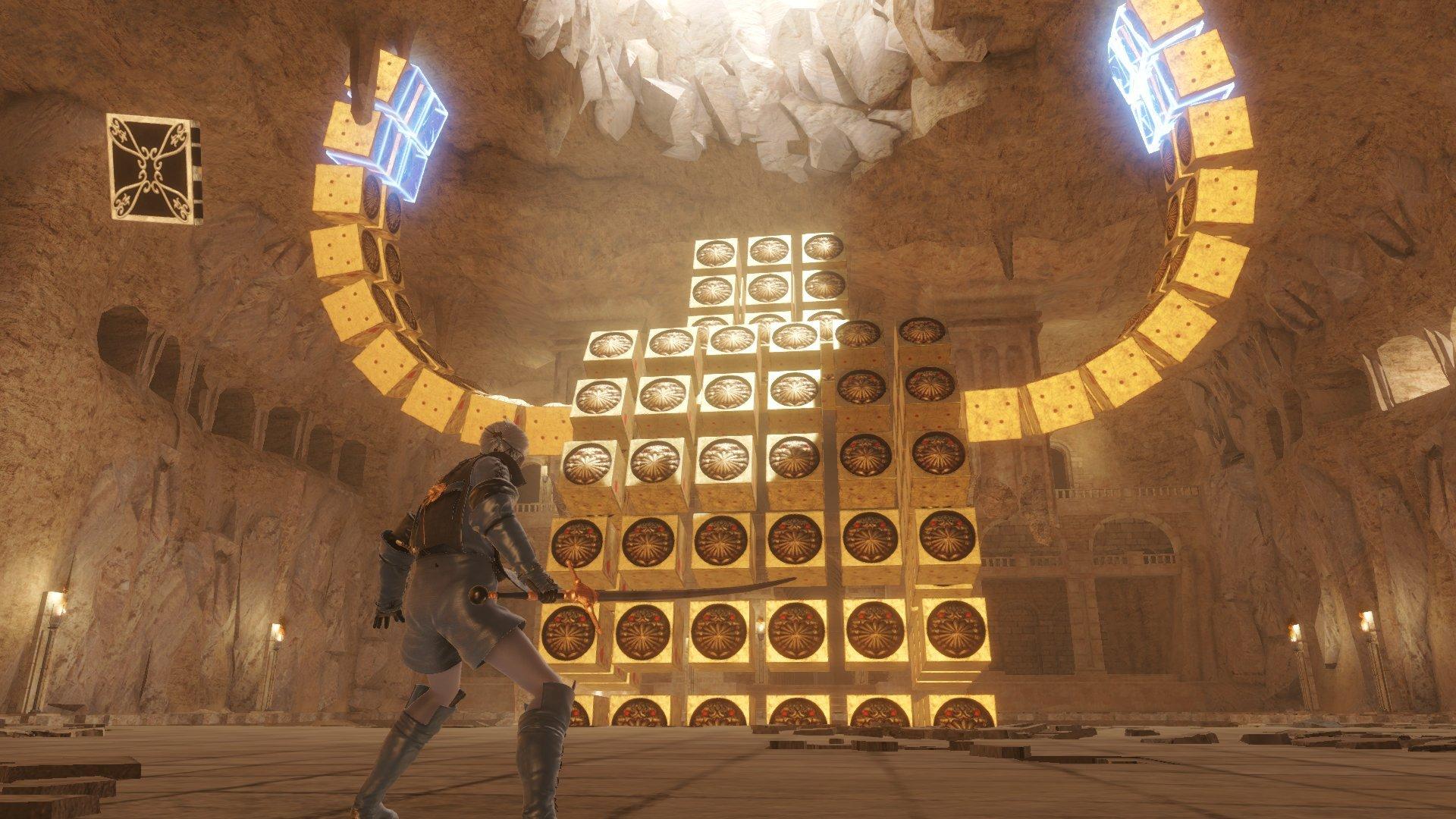 《尼尔:伪装者》升级版新截图发布 展示改进后的环境