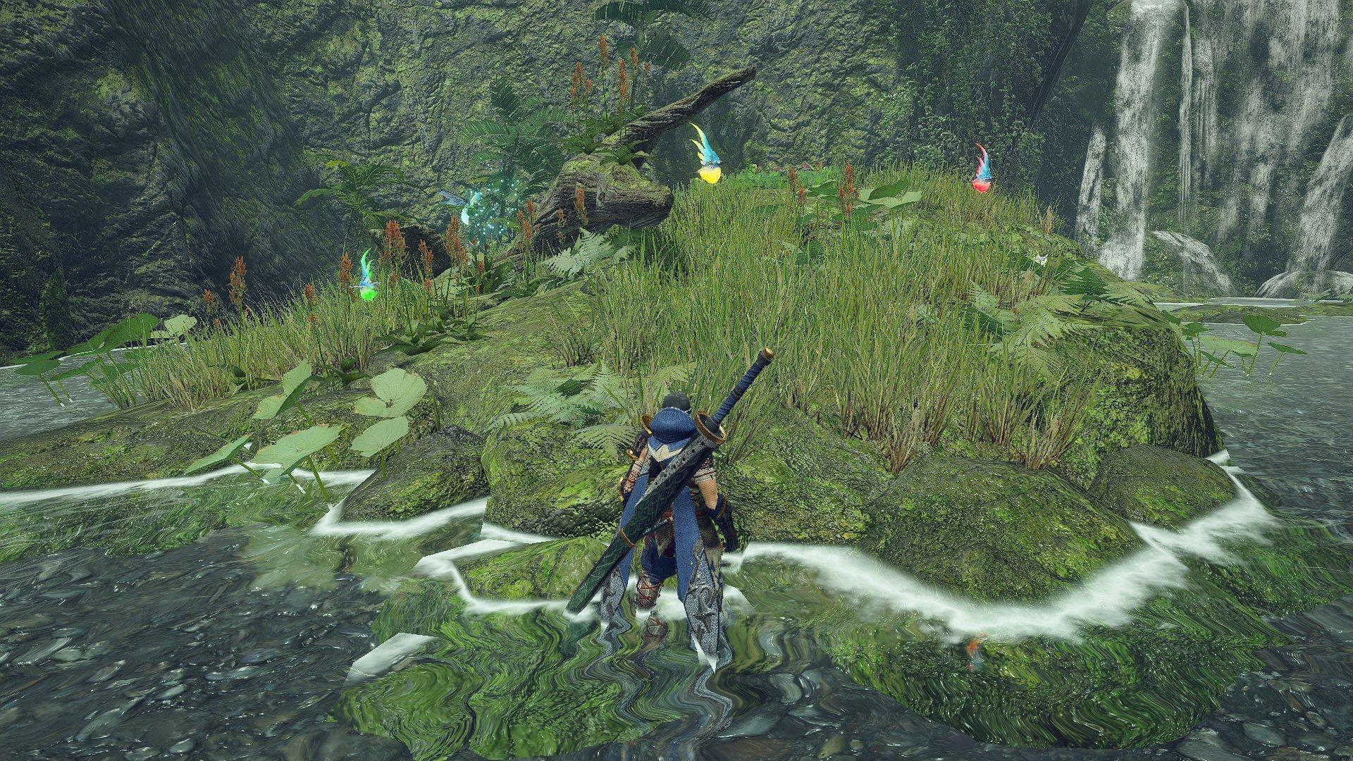 《怪物猎人:崛起》环境生物及部分武器翔虫动作演示