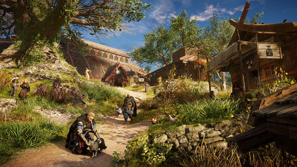 《刺客信条:英灵殿》定居点可不断升级 含超自然要素