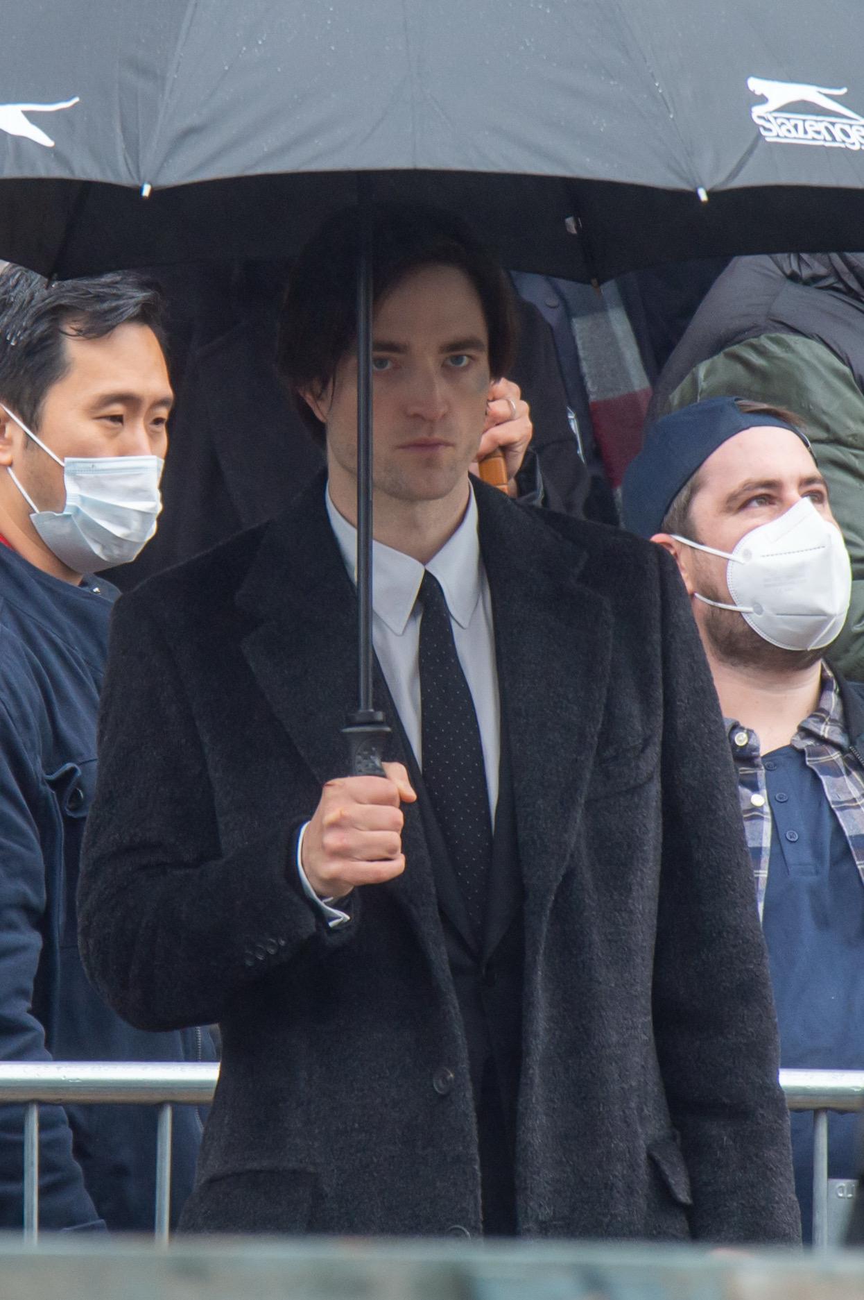 新《蝙蝠侠》电影片场照 罗伯特帕丁森回归