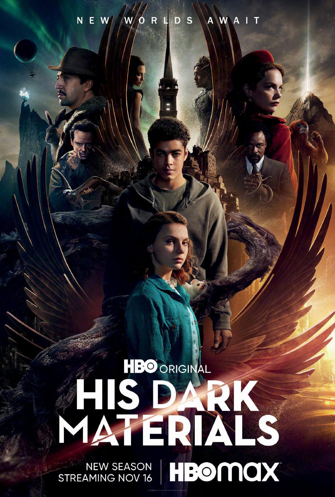 史上最贵英剧《黑暗物质》第二季将于11月16日回归
