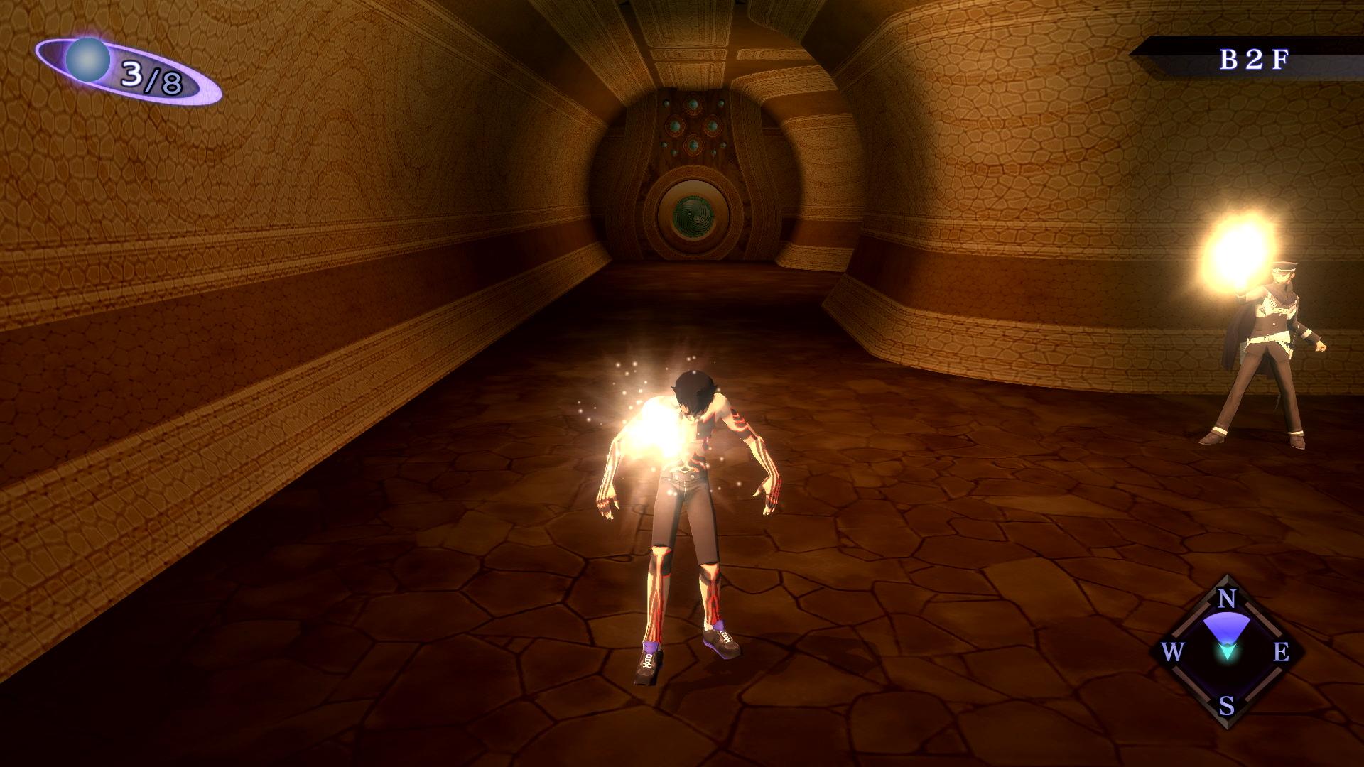 《真女神转生3HD重制版》新截图:主角狂怼强敌