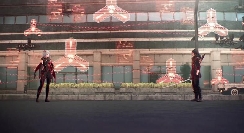 万代公开《绯红结系》新影像:男女主角合力制敌!