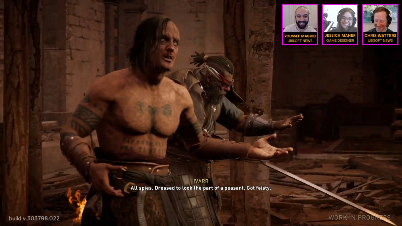 《刺客信条:英灵殿》1小时实机深度试玩演示
