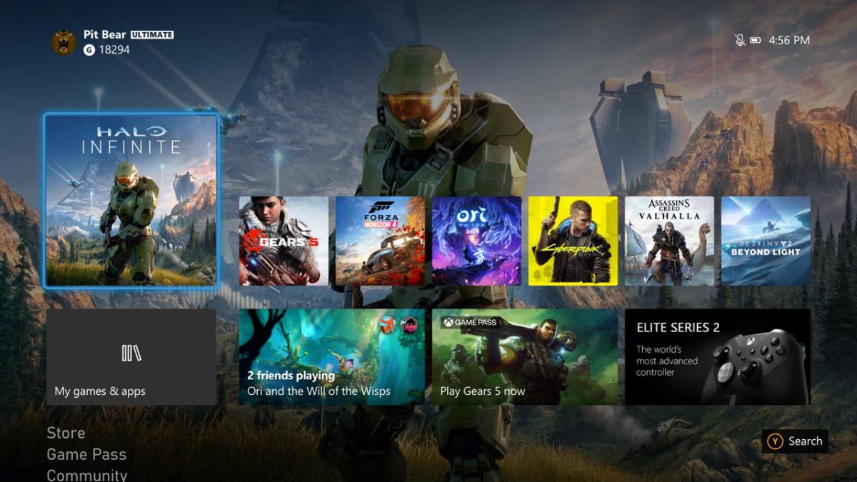 Xbox全面更新系统界面迎接次世代 外观变得更清爽