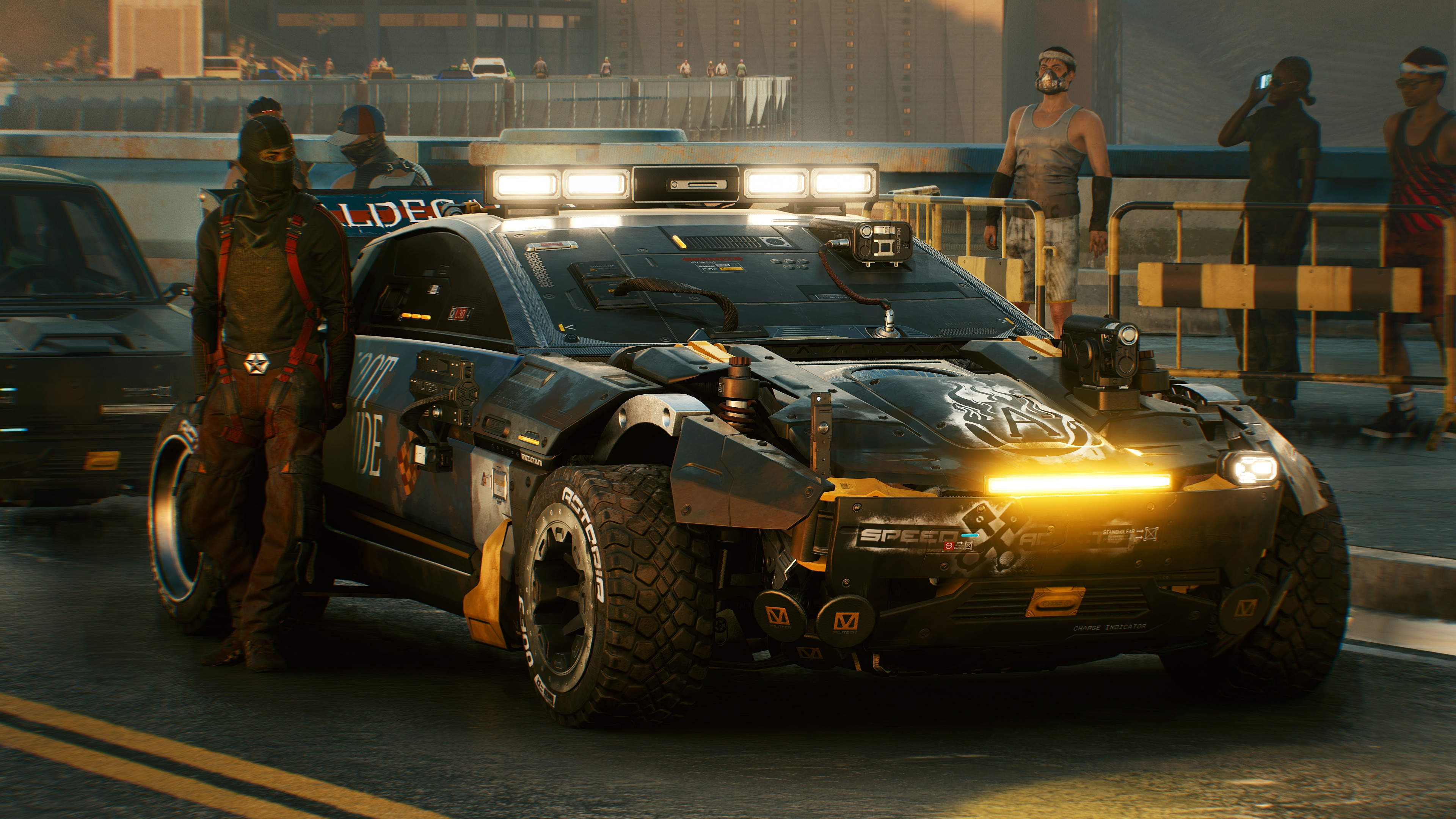 《赛博朋克2077》海量汽车截图 未来座驾保时捷911 Turbo