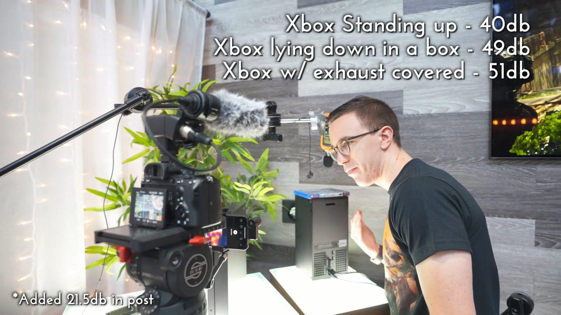 XSX主机散热、噪声实机测试 出色表现让人满意