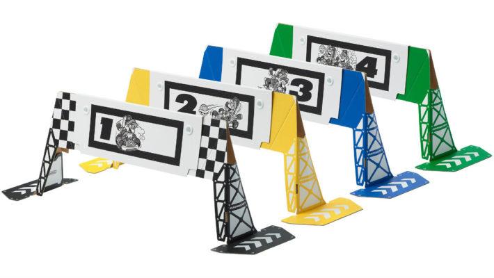 《马里奥赛车实况》玩家可以自己打印赛道标志