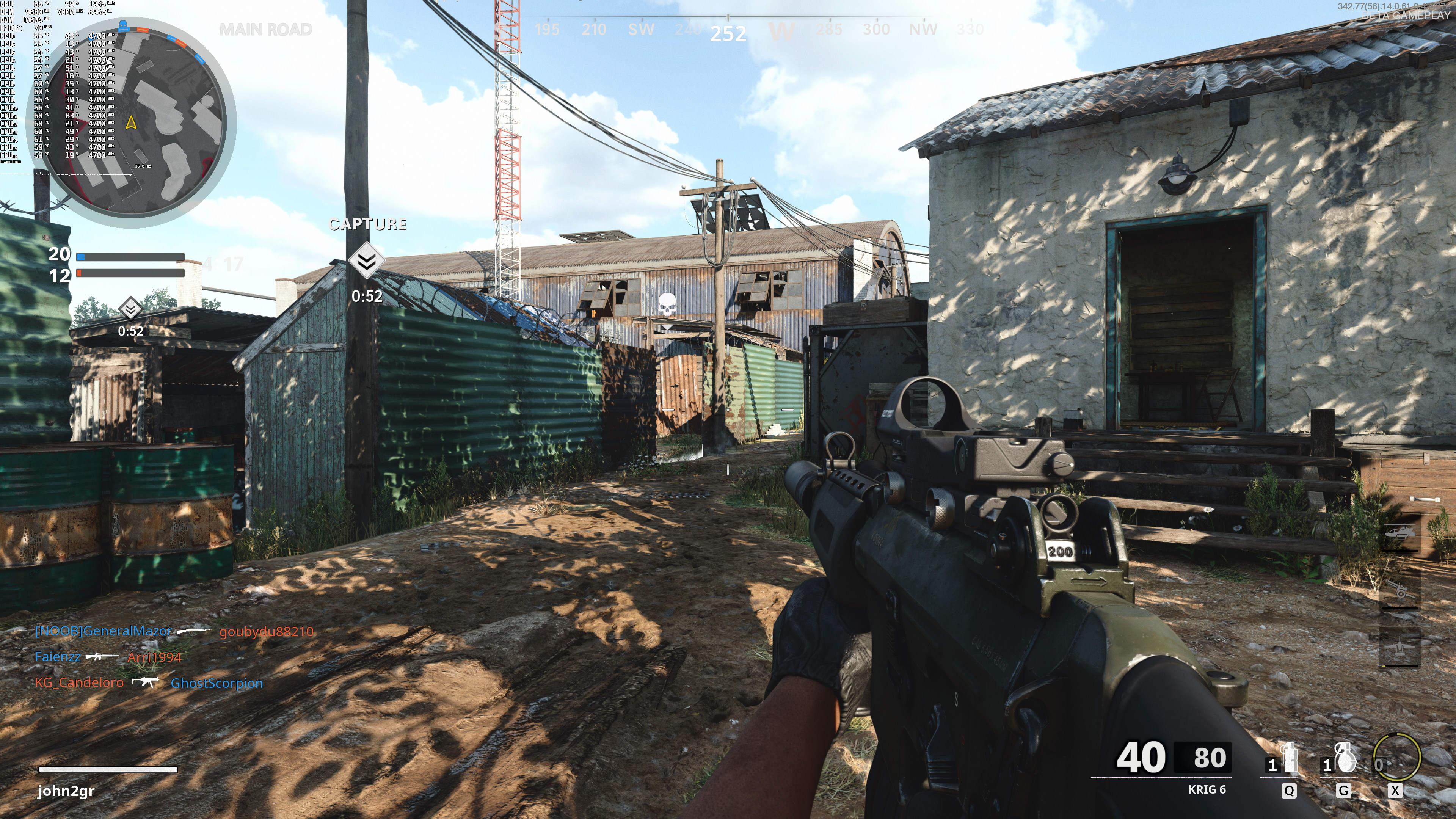 《使命召唤17》PC版BETA公测 4K最高画质截图