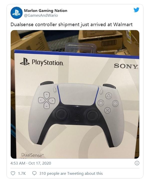 玩家提前拿到PS5手柄零售版 但是要670元一个
