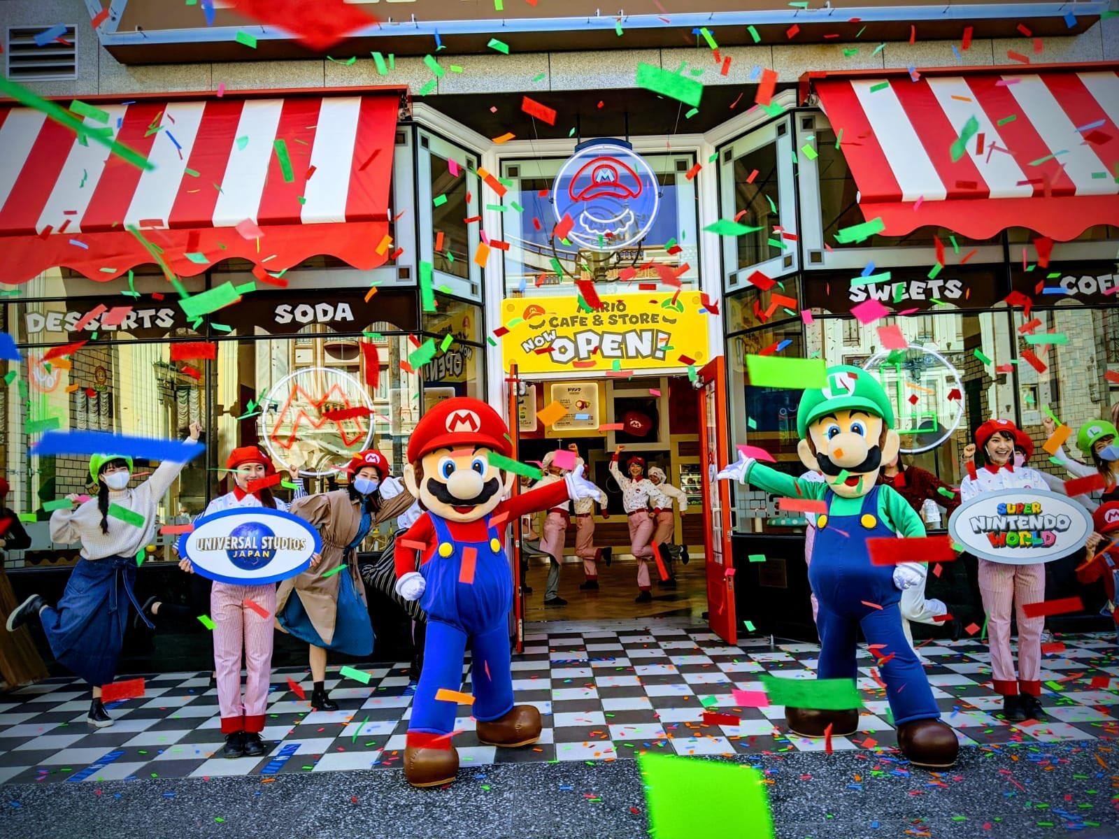 日本IGN参加环球影城马里奥咖啡店开业典礼