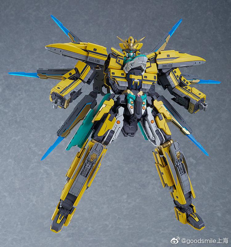 GSC MODEROID《新干线战士》E5×黄博士号拼装模型