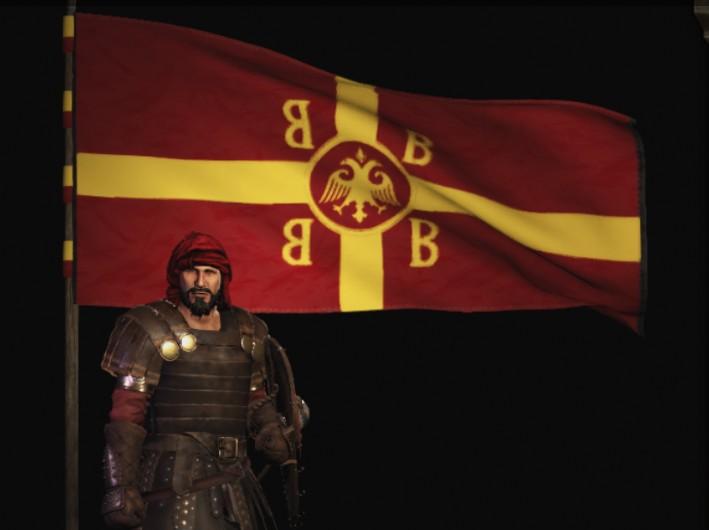 《骑马与砍杀2》东罗马帝国旗帜MOD