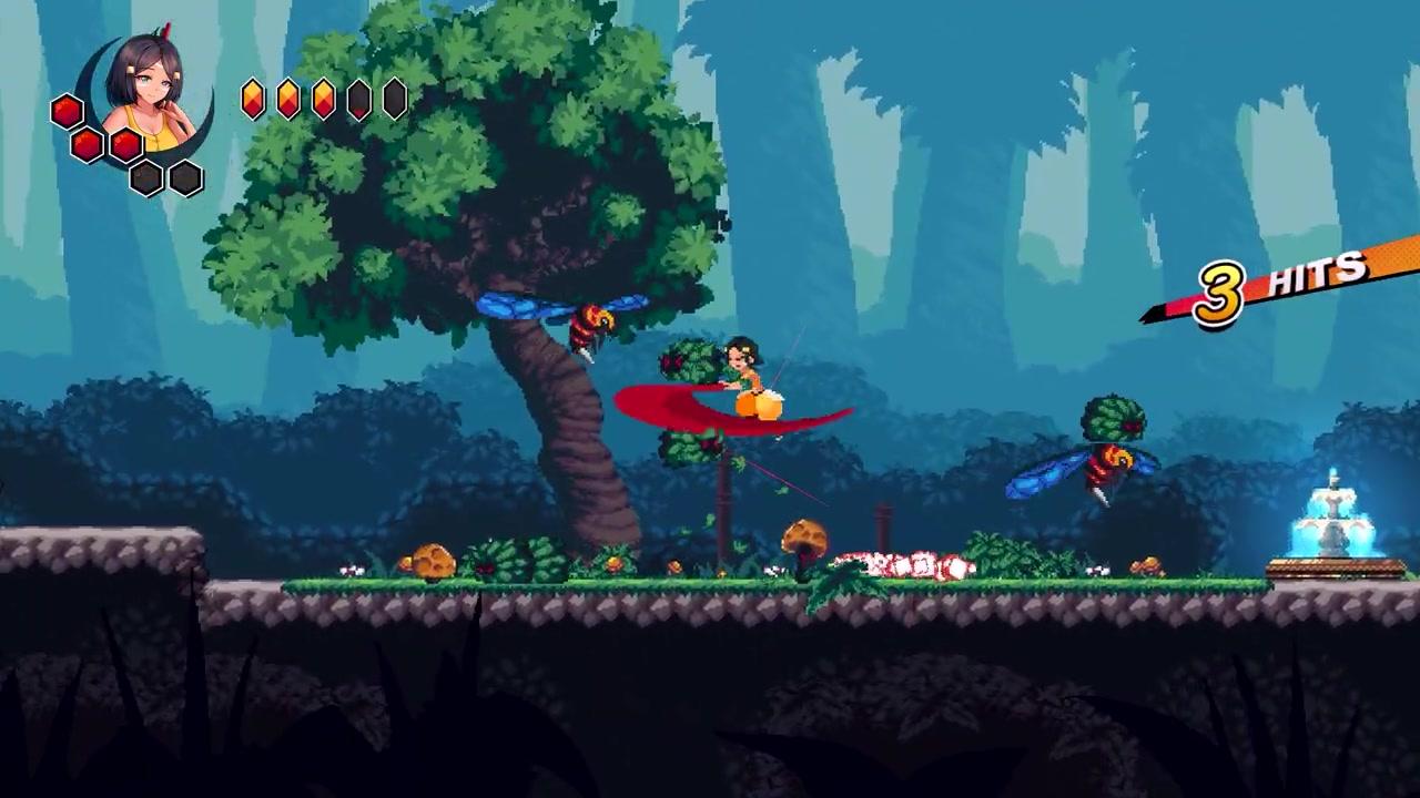 2D像素横向动作游戏《悲伤扳机》面向NS/PC公布