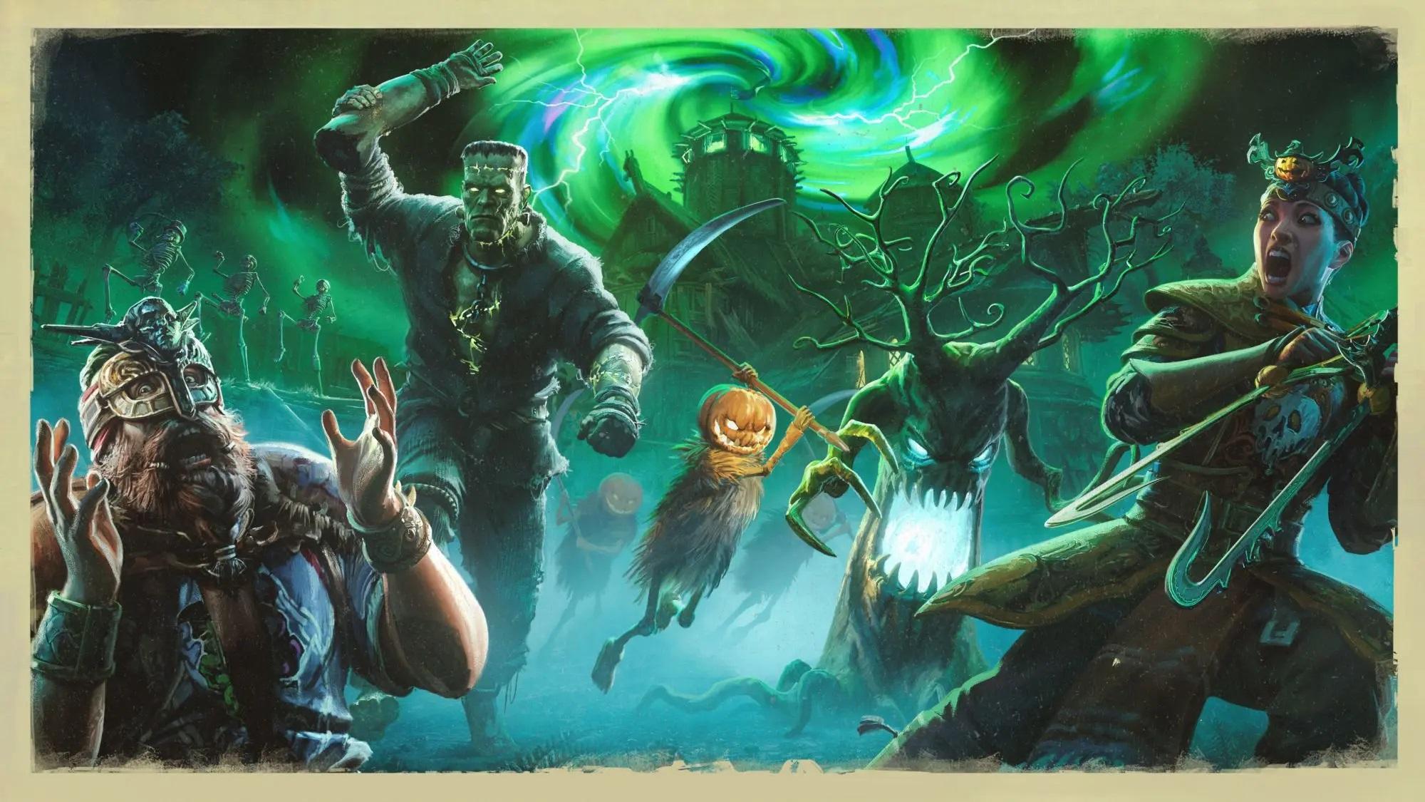 《荣耀战魂》开启万圣节活动 新增两种全新玩法