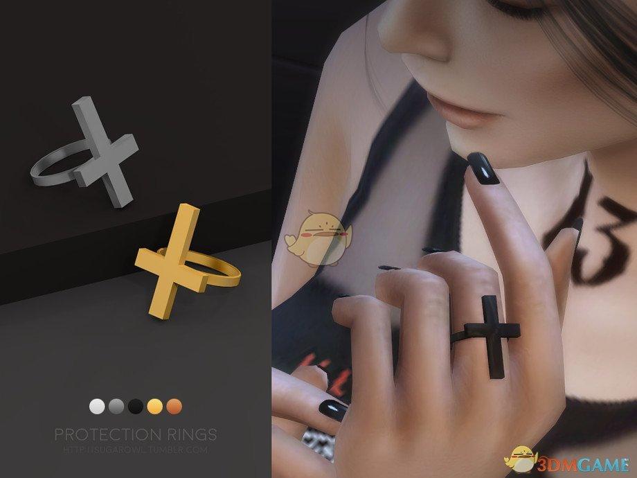 《模拟人生4》圆环十字架戒指MOD