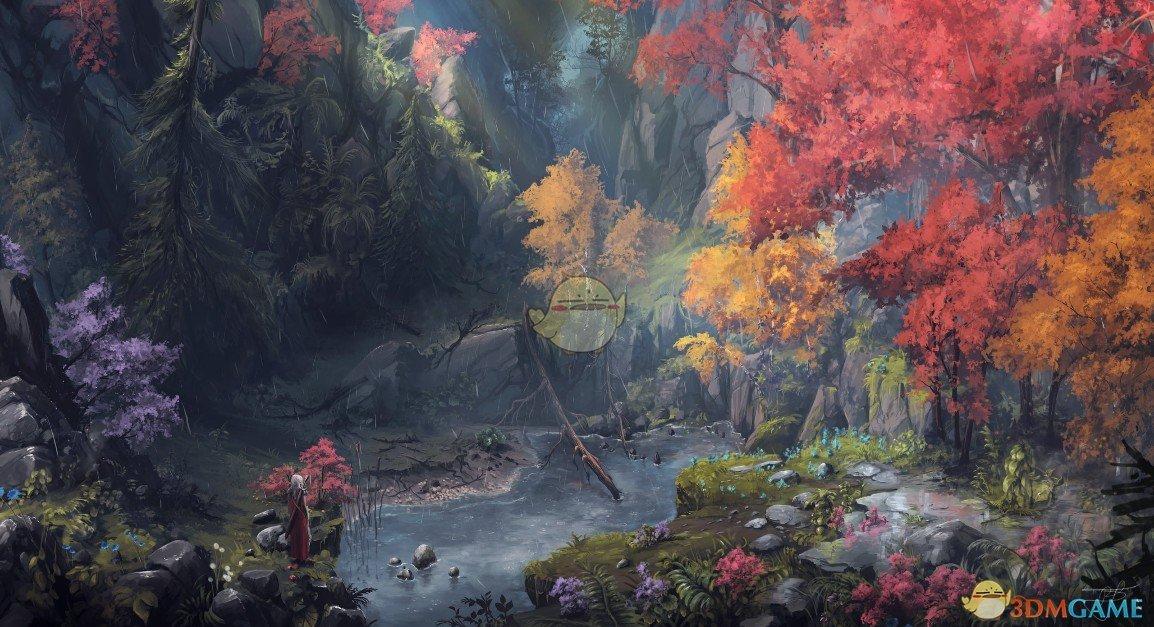 《Wallpaper Engine》山涧中的幻想森林动态壁纸