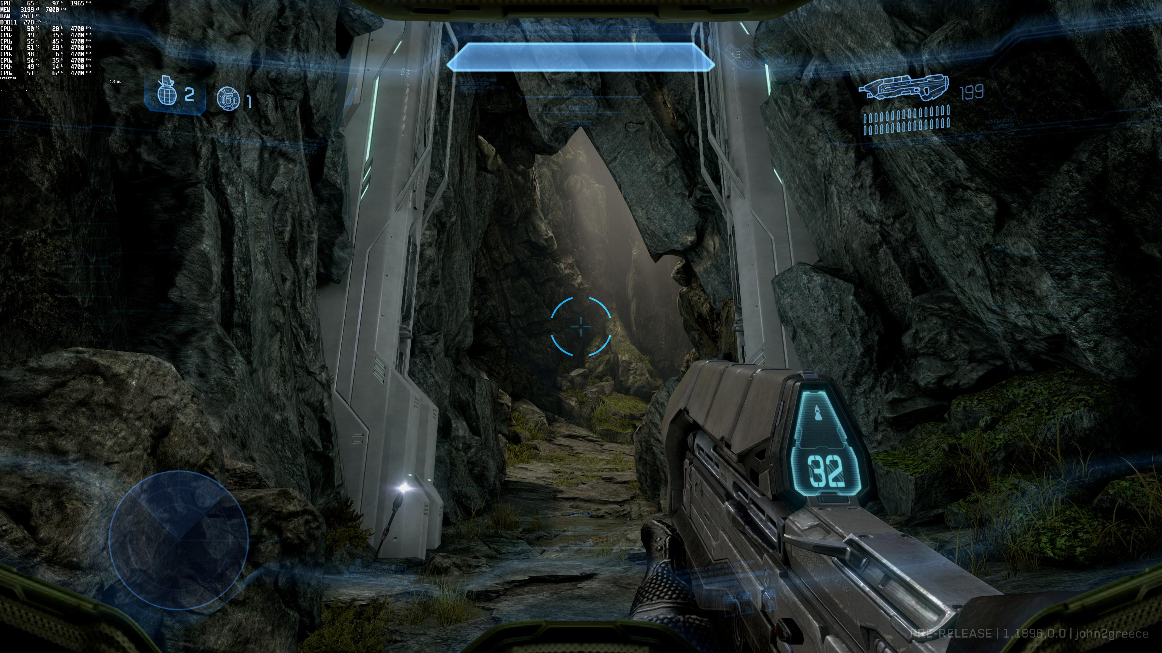 《光环4》4K游戏截图曝光 史诗级画面效果展示
