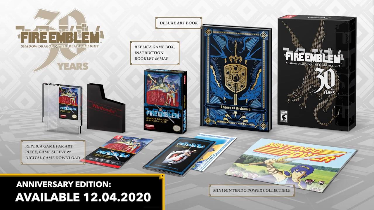 《火焰纹章:暗黑龙与光之剑》30周年版登陆Switch