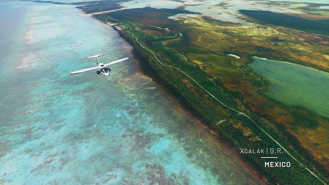 《微软飞行模拟》环游地球系列视频之北美地区