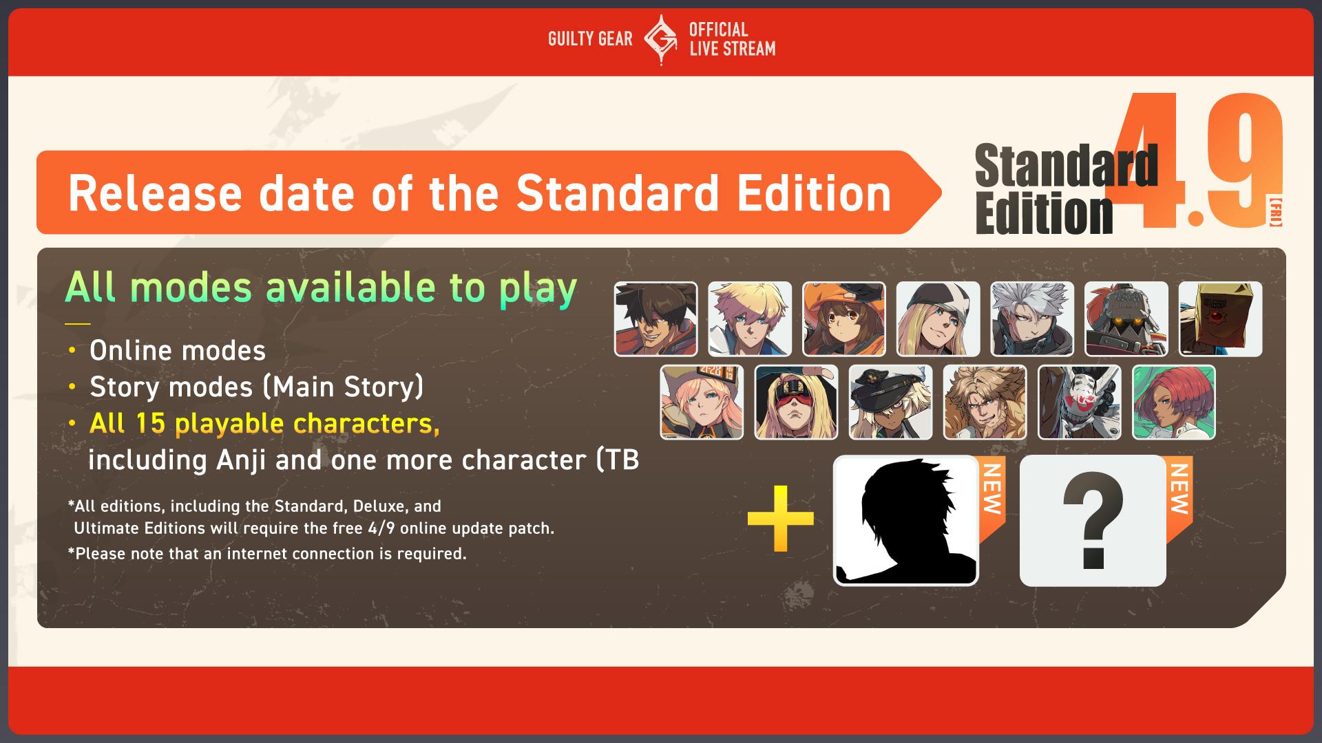 《罪恶装备:Strive》次世代版本免费升级 主机版支持跨平台