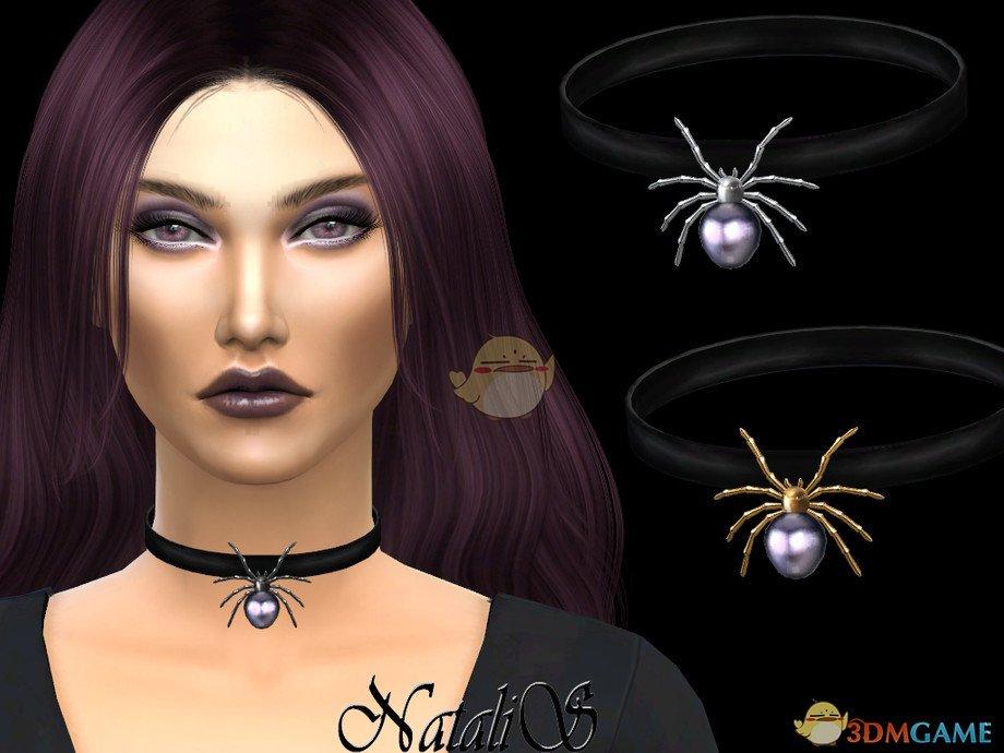 《模拟人生4》蜘蛛项链MOD