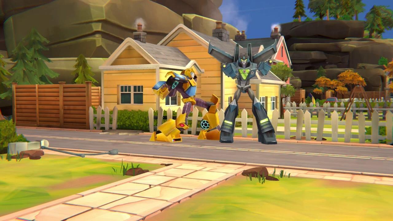 策略游戏《变形金刚:战场》新演示 大黄蜂手持光刃