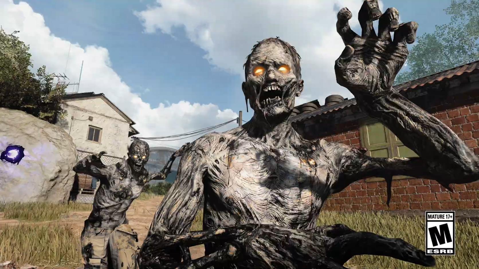 """使命召唤17""""僵尸入侵""""模式PS4和PS5时限独家11月1日至2021"""