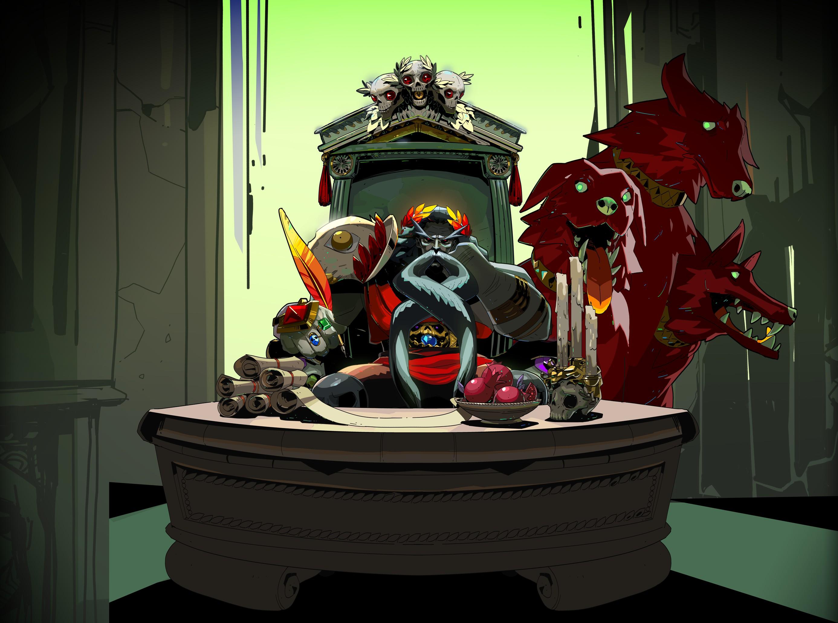 大热独立游戏作品《哈迪斯》官方艺术设定图欣赏