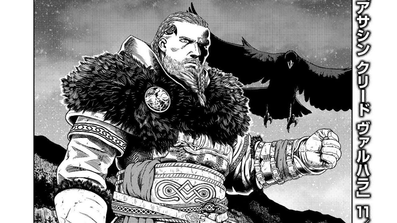 《刺客信条:英灵殿》联动《海盗战记》漫画第一辑发布
