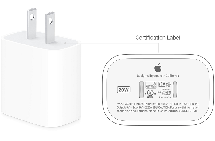 苹果:只有20W充电头才能发挥iPhone 12快充实力