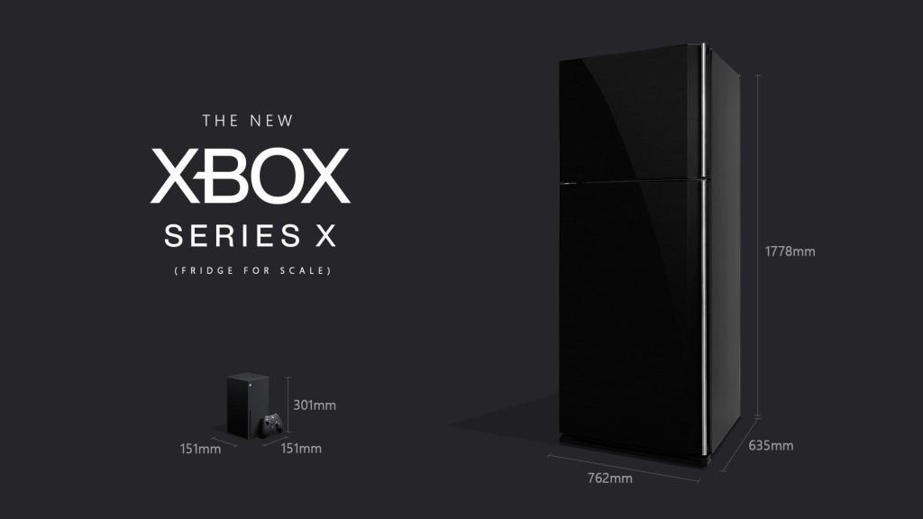 官方玩梗最致命!微软真的造出了真人大小的XSX冰箱